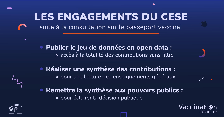 Les engagements du CESE suite à la consultation